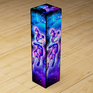 Fighter in the universe wine bottle boxes