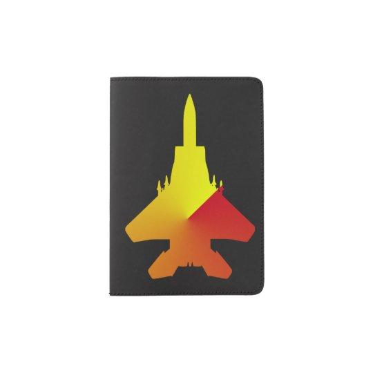 Fighter Jet Custom Passport Holder