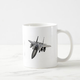 Fighter jet design coffee mug