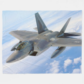 Fighter Jet Fleece Blanket