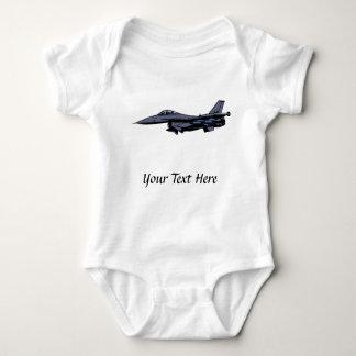 Fighter Jet Flying Baby Bodysuit