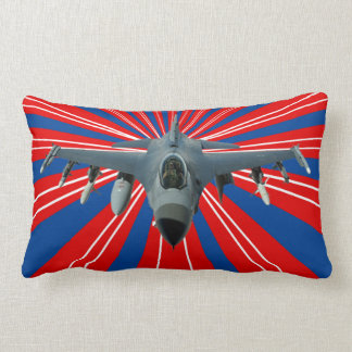 Fighter Jet Lumbar Pillow