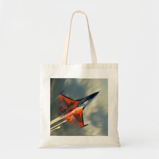 Fighter Jet Military airplane speed Tote Bag