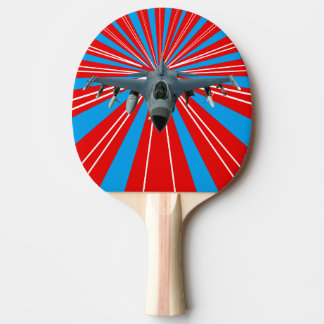 Fighter Jet Ping-Pong Paddle