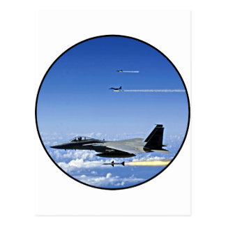 Fighter Jet Postcard