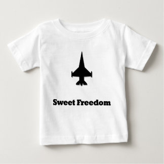 Fighter Jet Sweet Freedom Baby T-Shirt