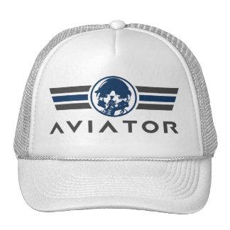 Fighter Pilot Helmet and Mask Trucker Hat