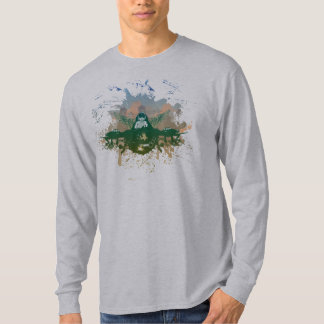 Fighter Pilot on Light T-Shirt