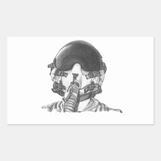 Fighter Pilot Sticker