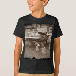 Fighter Pilots in Training on P-47 Thunderbolts T-Shirt