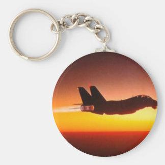 Fighter plane keychain