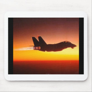Fighter plane mouse pad