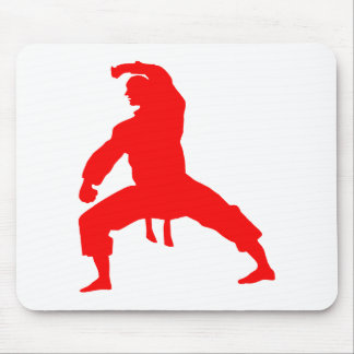 Fighter-talk Mouse Pad