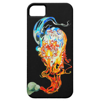 fighter tiger iPhone 5 cover