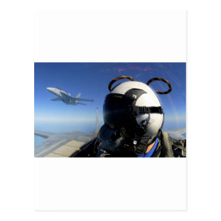 FIGHTERS FORMATION POST CARD