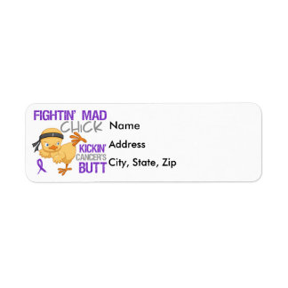 Fightin Chick GIST Cancer Labels