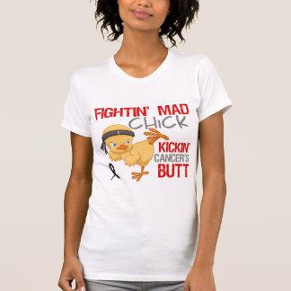Fightin Chick Melanoma T-Shirt