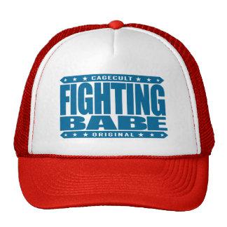 FIGHTING BABE - Inspirational Feminist War Goddess Trucker Hat