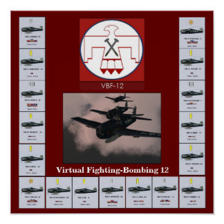 Fighting Bombing 12 - Poster