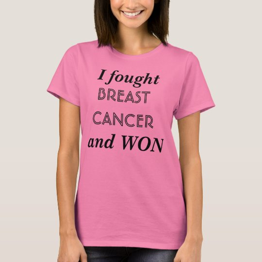 Fighting Breast Cancer T-Shirt