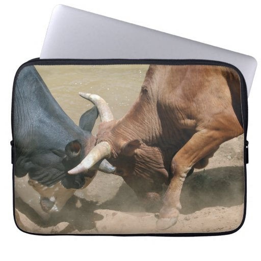 Fighting Bulls Computer Sleeve