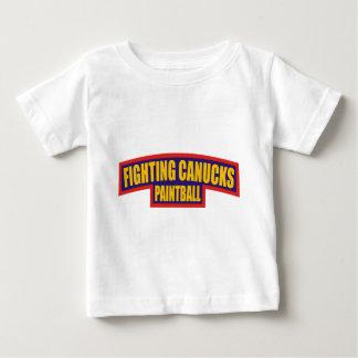 Fighting Canucks Tab Baby T-Shirt