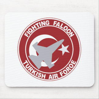 Fighting Faloon Turkish Air Force Military Patch Mousepad