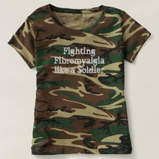 Fighting Fibromyalgia like a Soldier Camo Shirt