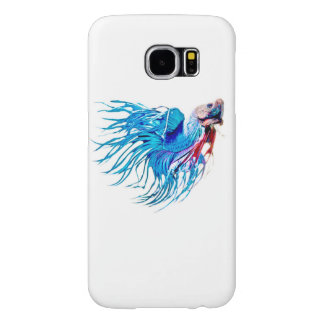 fighting fish samsung galaxy s6 cases