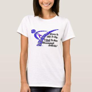Fighting for a Cure Rheumatoid Arthritis T-Shirt