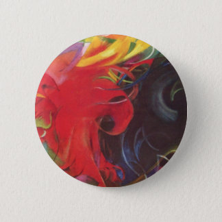Fighting Forms (Kämpfende Formen) by Franz Marc 2 Inch Round Button