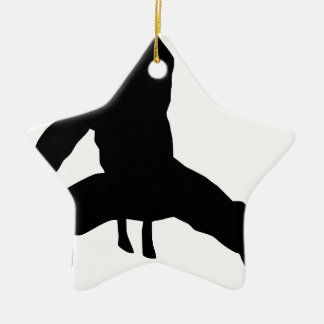 Fighting hereditary lacquer ceramic star ornament