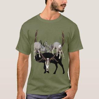 Fighting Mule Deer customize T-Shirt