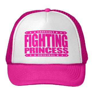 FIGHTING PRINCESS - Dragon Slayer Feminist Goddess Trucker Hat