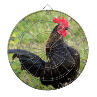Fighting Rooster Dartboard