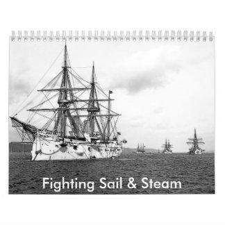 Fighting Sail & Steam Wall Calendars