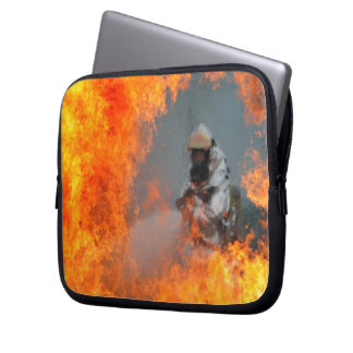 Fighting Wildfires Laptop Computer Sleeves