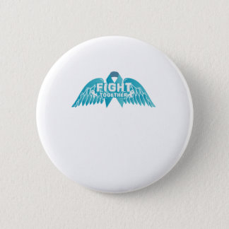 Fightng Support Ovarian Cancer Awareness 2 Inch Round Button