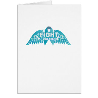 Fightng Support Ovarian Cancer Awareness Card