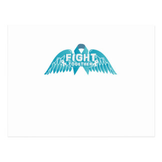 Fightng Support Ovarian Cancer Awareness Postcard