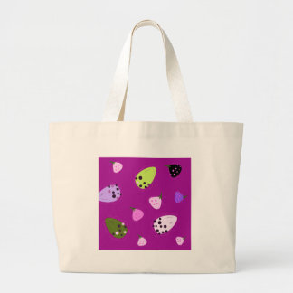 Figs amazing hand-drawn exotic Art Design Large Tote Bag