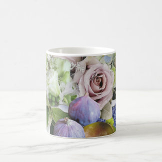 Figs, Floral and Pears Mug