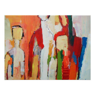 Figure Framed Print  Modernist Painting