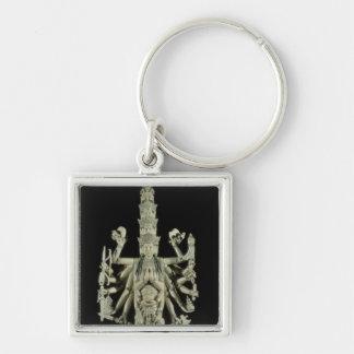 Figure of the Hindu Goddess Kali Keychain
