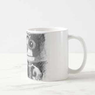 figure + puppet coffee mug