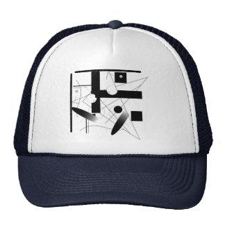 Figure shake trucker hat