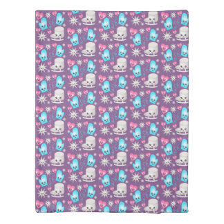 Figure Skate Pattern  Duvet Cover