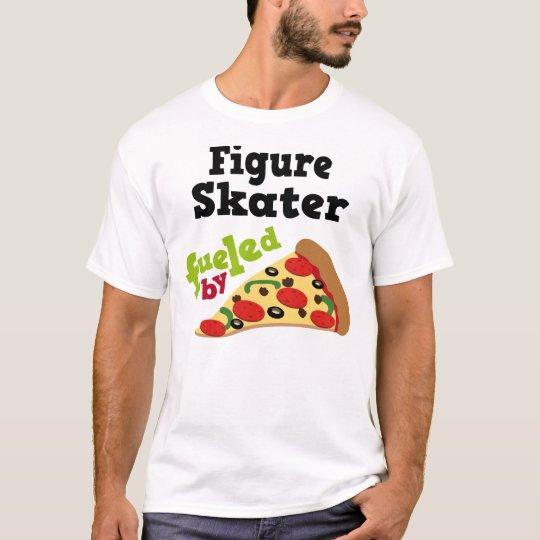 Figure Skater (Funny) Pizza T Shirt