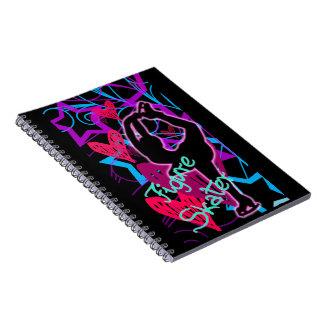 Figure Skater_Glow_Notebook Notebooks