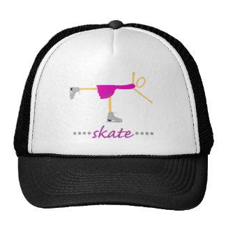 Figure skater trucker hats